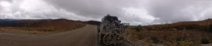 mud highway panorama