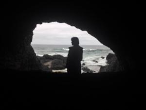 oregon coastal cave