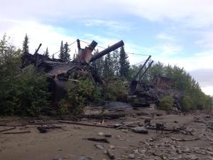paddlewheeler abandoned