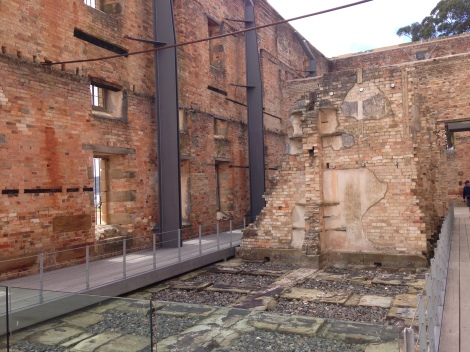 port arthur prison remains.JPG
