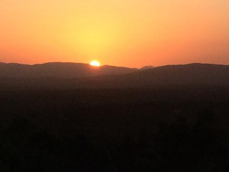 sunset over the bush.JPG