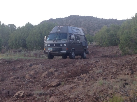 camping rough road turn around.JPG