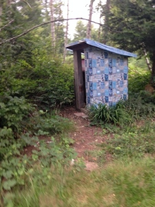 11 outhouse at the pond