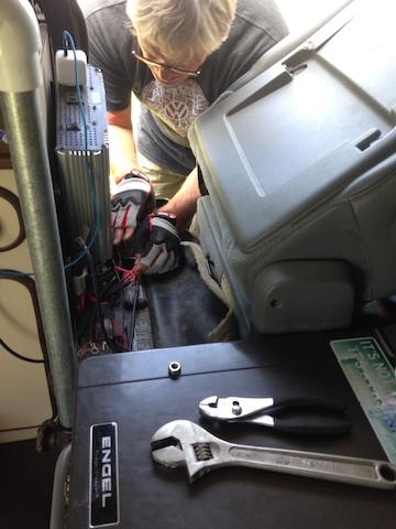 electrical check in borrowing a van.jpg