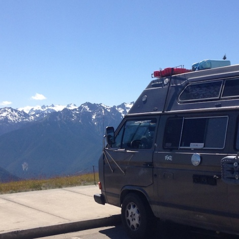 hurricane ridge van