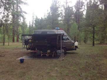 camped at near North rim of Grand Canyon.JPG