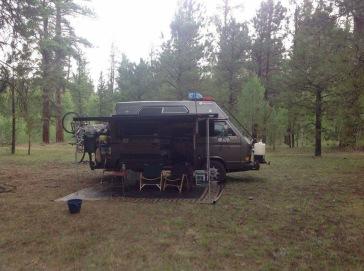 camped at near North rim of Grand Canyon.JPG