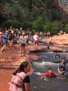 visiting-slide-rock-with-family