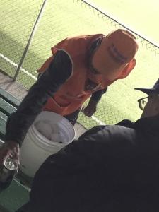 beer vendor at soccer game