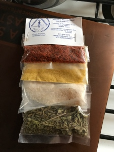 spices for a donation