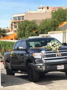 wedding vehicle