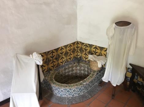 bathing, nun style