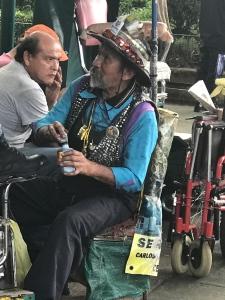 shoeshine man