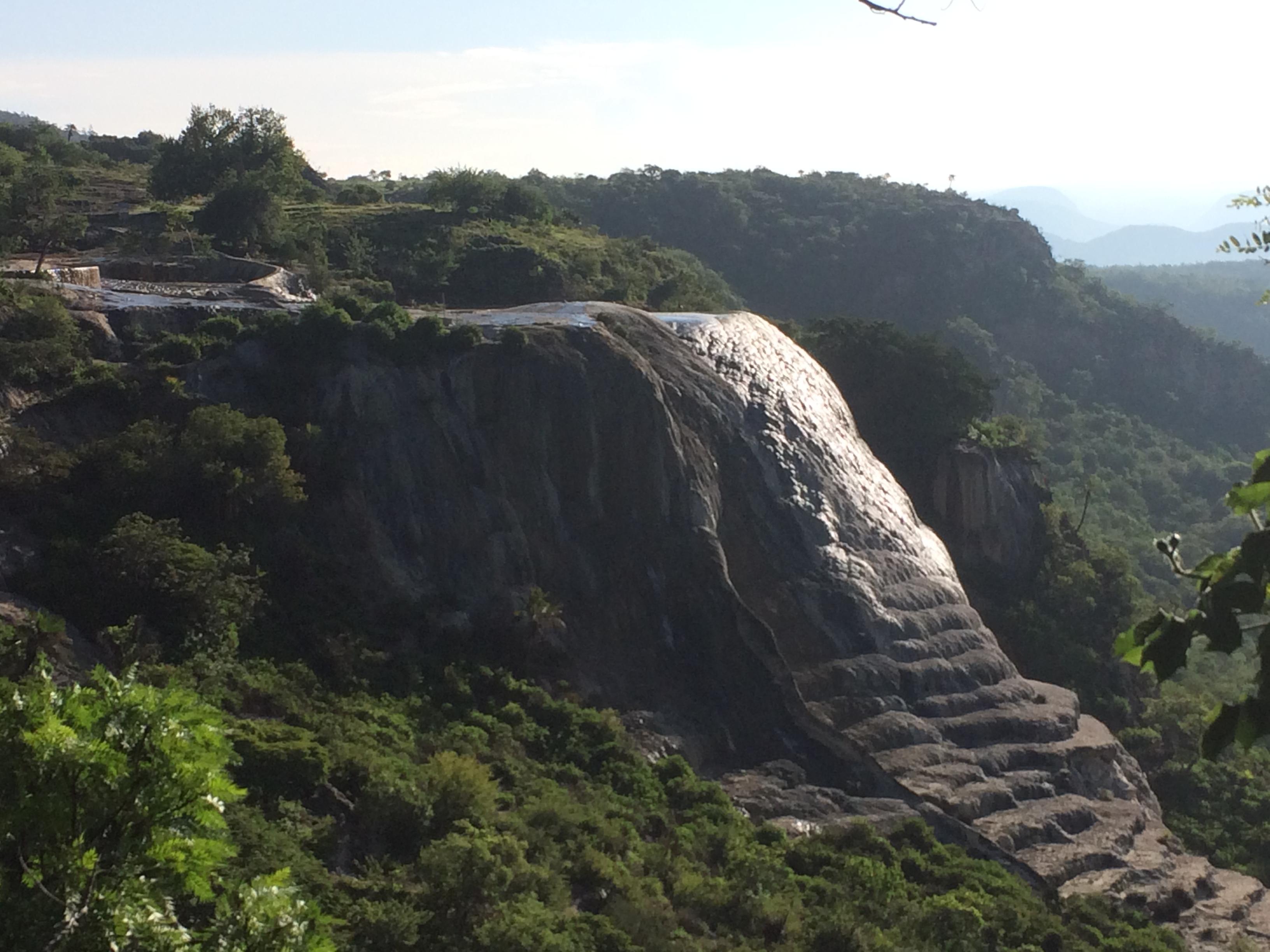 hierve active falls