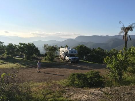 hierve cliff camp