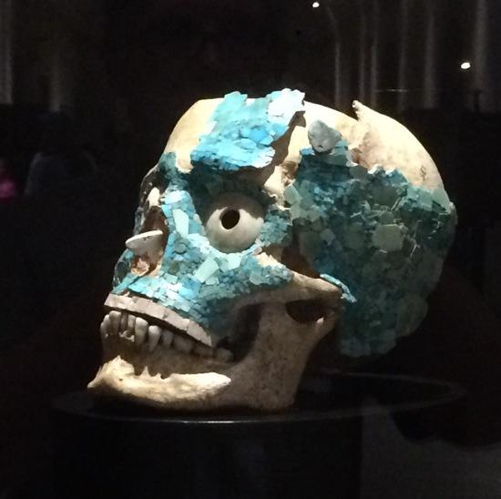 monte alban skull
