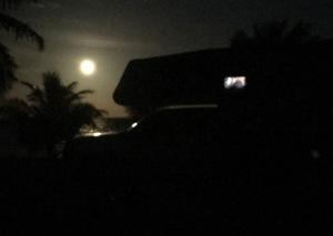 camper at night