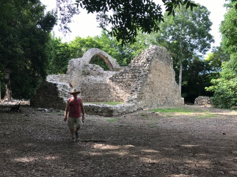 chetumal ruins church