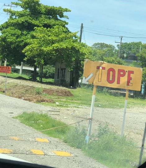 donation roadblock