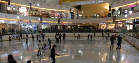 mall ice rink