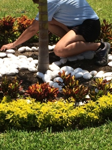 rearranging rocks