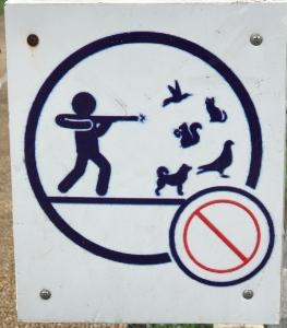sign outside zoo.