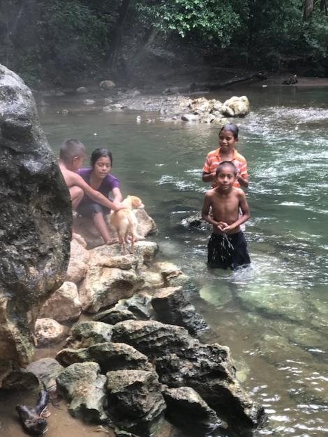 hot falls kids