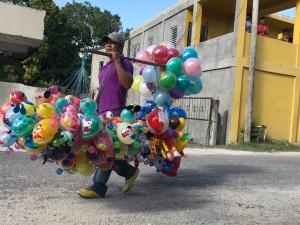indep balloon seller