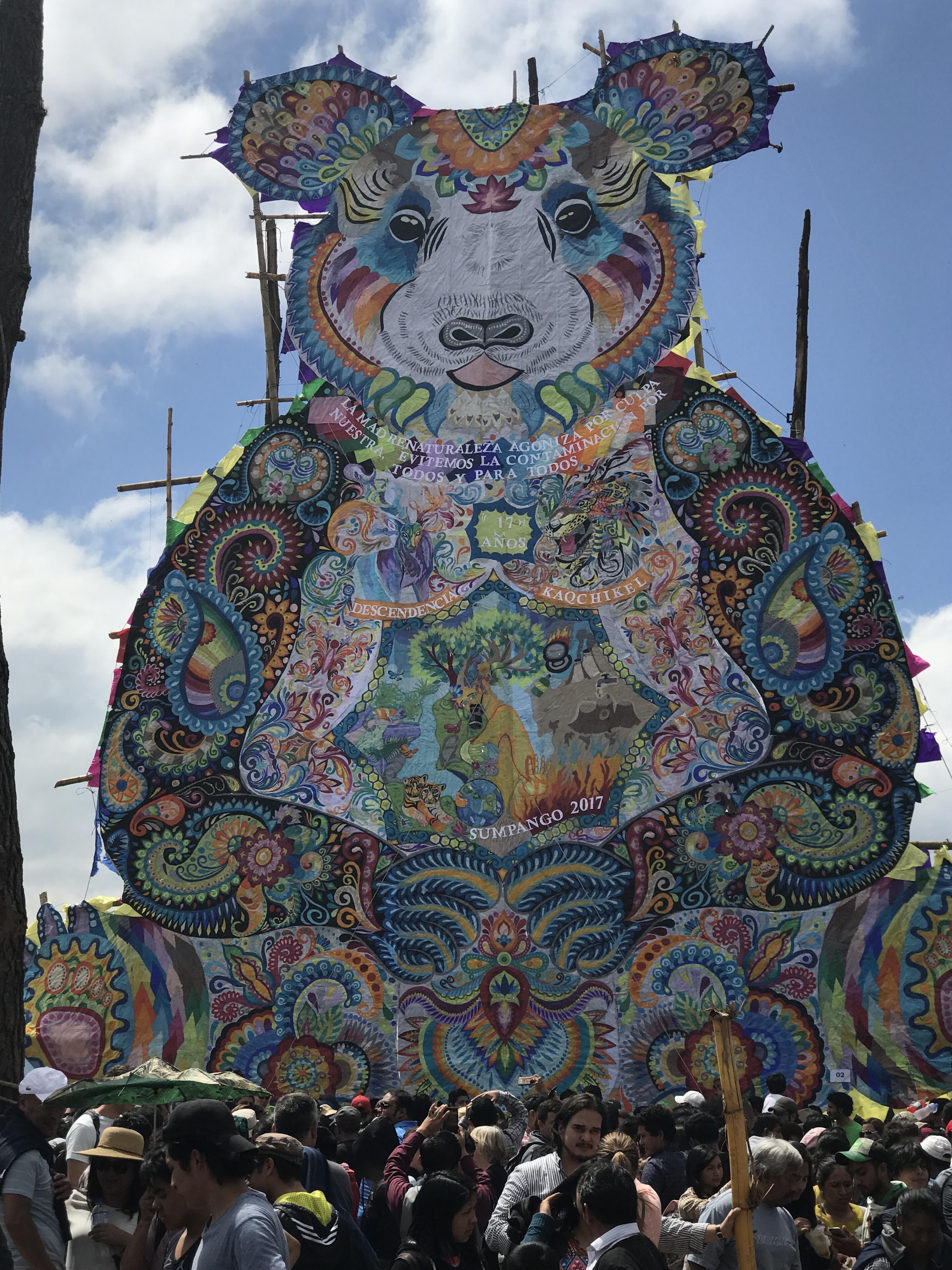 kites huge bear