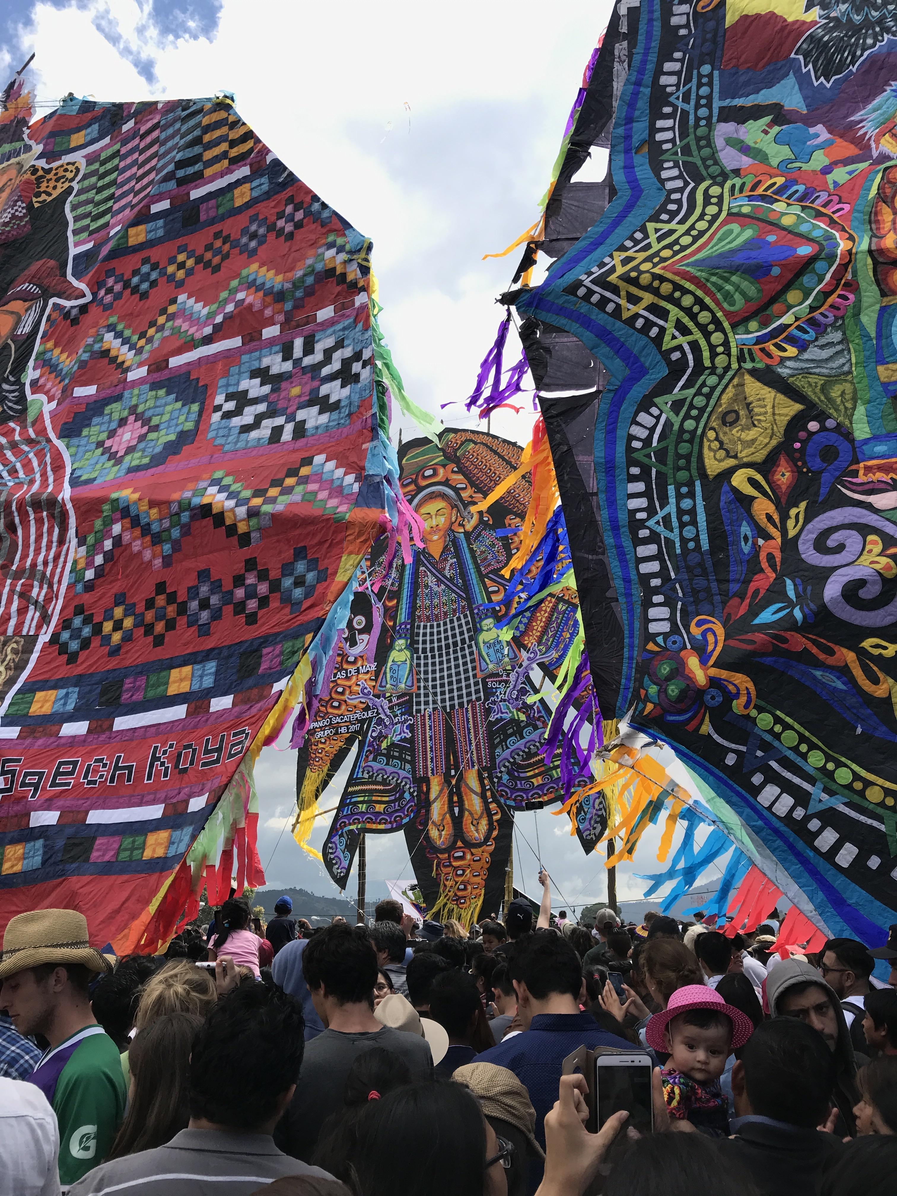 kites looking through