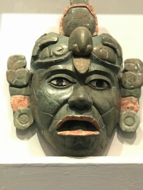museum jade mask