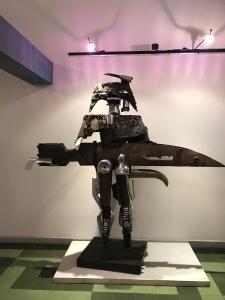 museum metal art