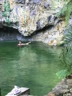 hot pool, hot rocks