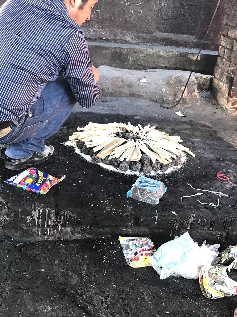 maya ceremony preparation