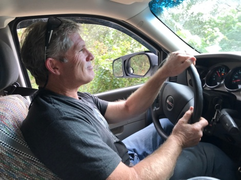 mike driving