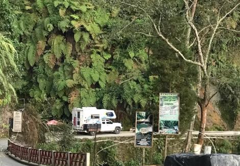 parking lot campsite