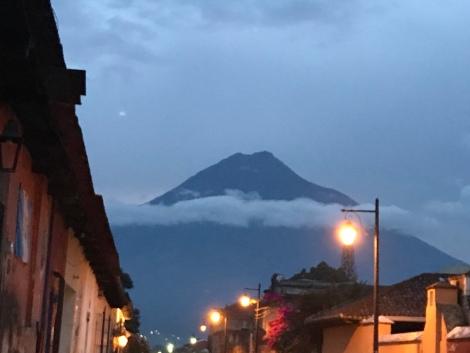 volcano street light