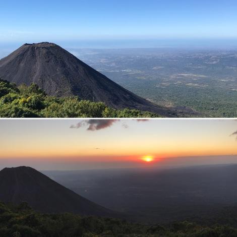 volcano split