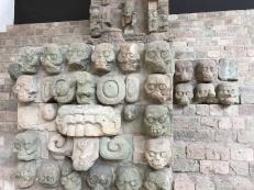Copan wall of skulls