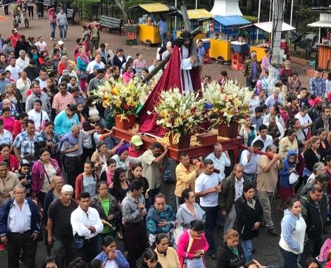 matagalpa religious procession