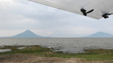 exiting nicaragua view