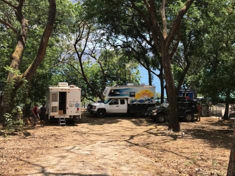laguna apoyo campsite