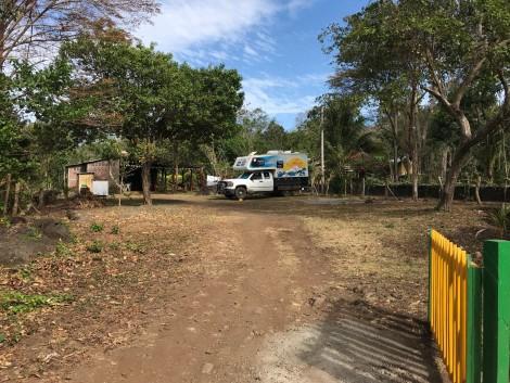 ometepe hostel campsite