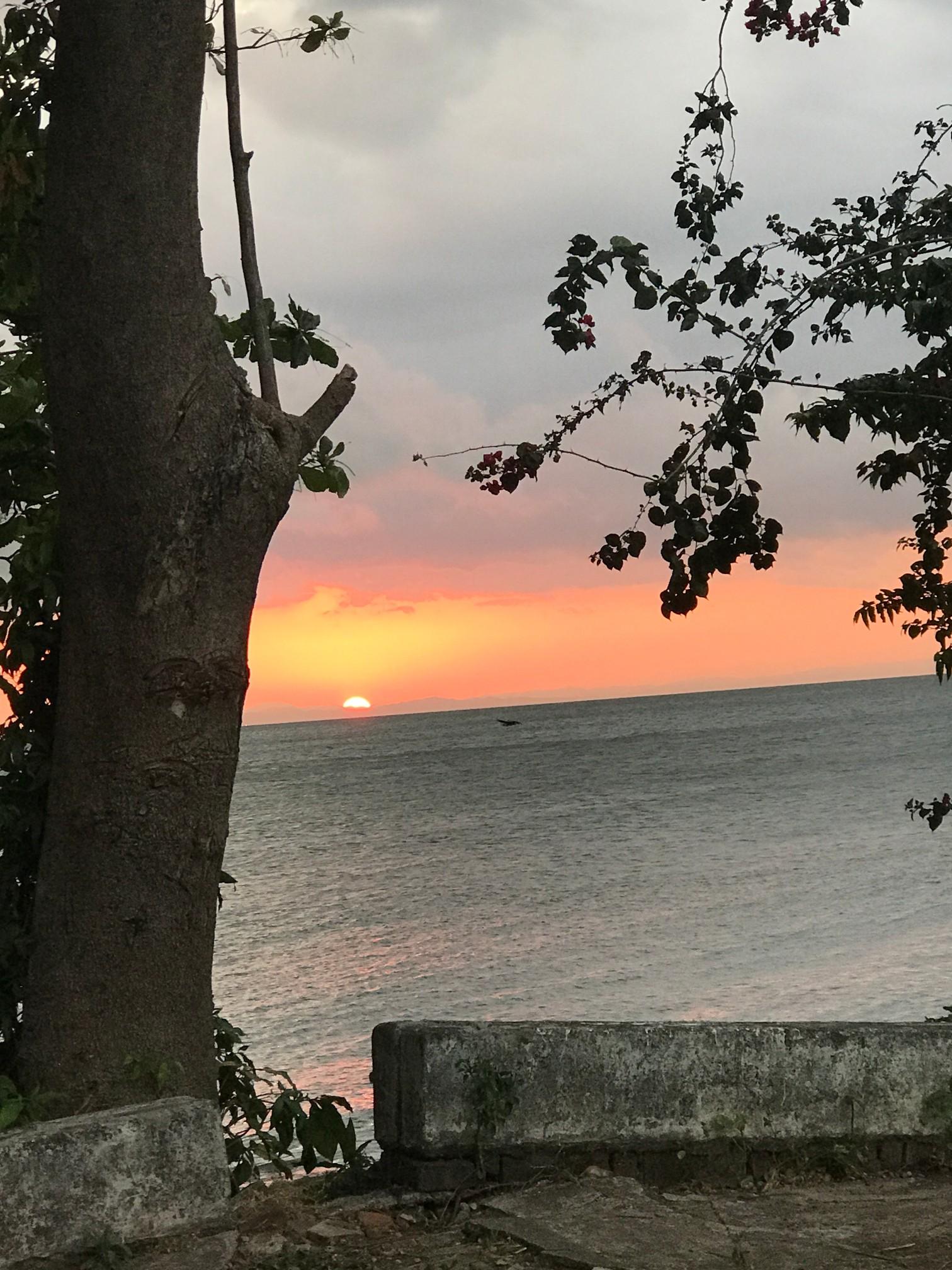 ometepe plain sunset
