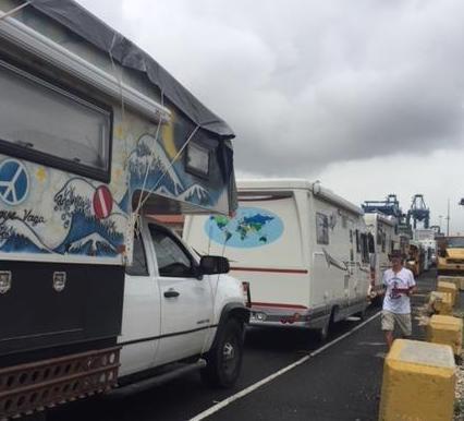trucks lined up in port.JPG