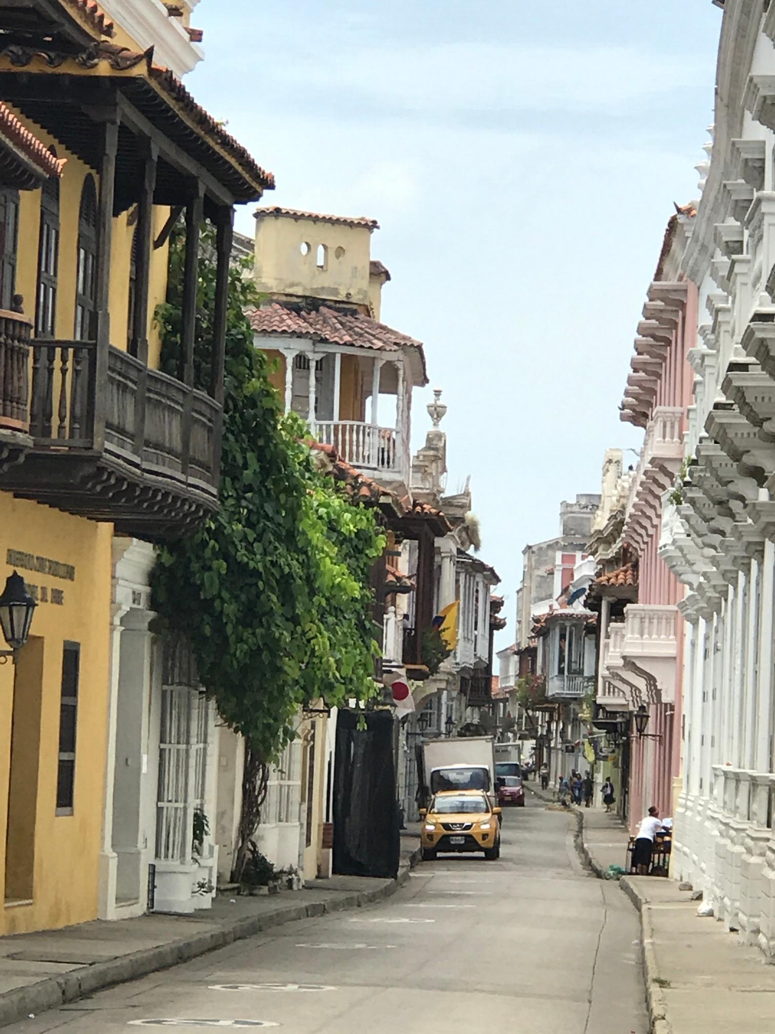 cartagena city street