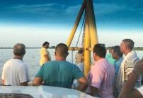 ferry leaningontruck