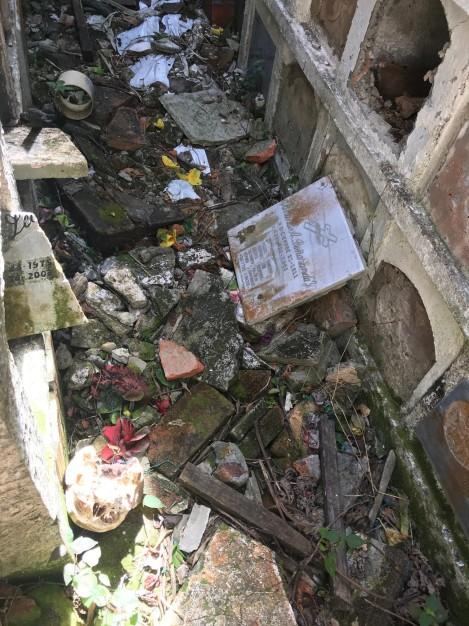 mausoleum floor