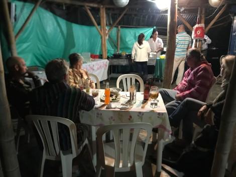 guatepe local dinner