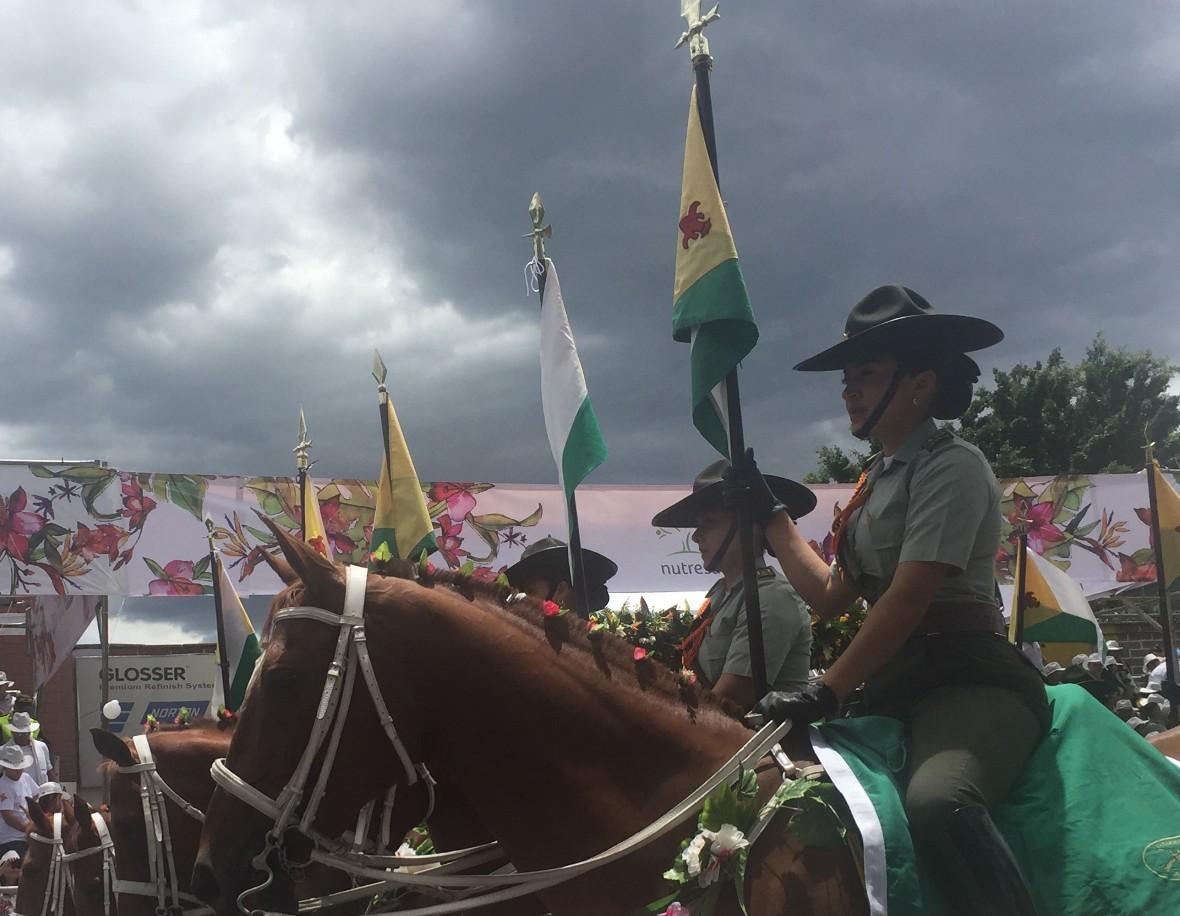 parade horsewomen